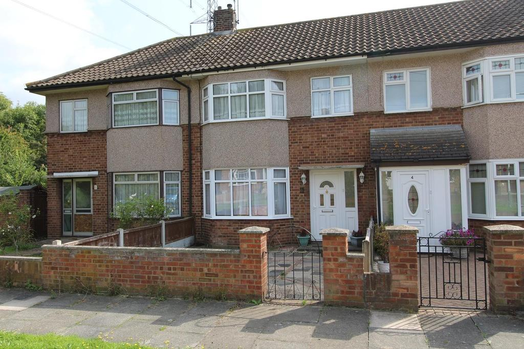 3 Bedrooms Terraced House for sale in Tamar Close, Upminster, Essex, RM14