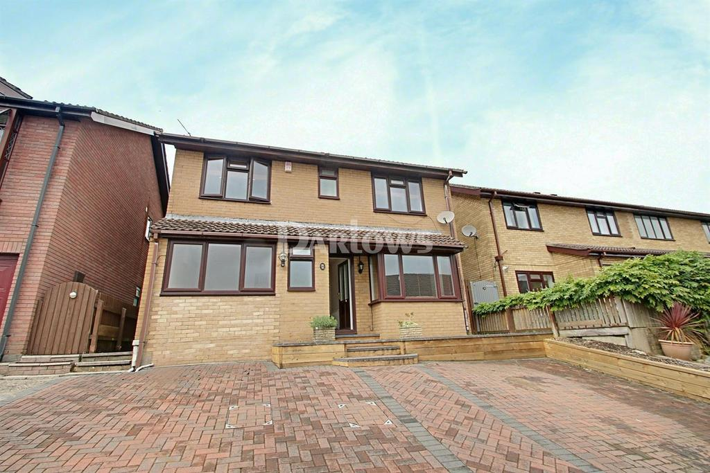 4 Bedrooms Detached House for sale in Thistle Court, Ty Canol, Cwmbran