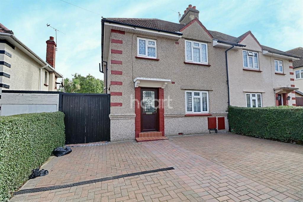 3 Bedrooms Semi Detached House for sale in Lyon Park Avenue, Wembley Central