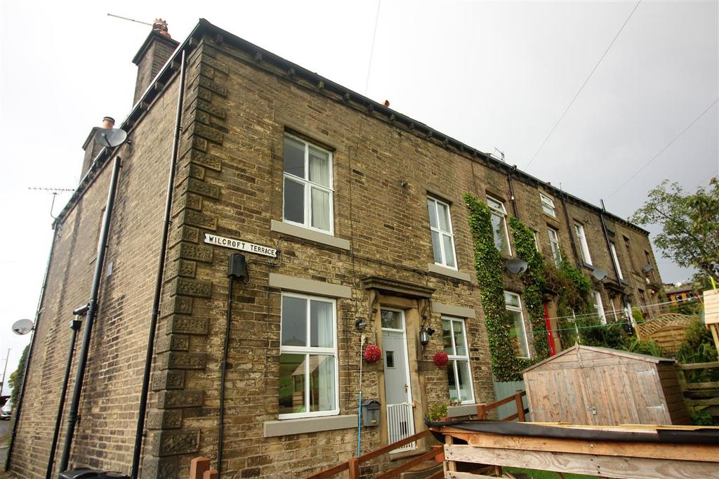 3 Bedrooms End Of Terrace House for sale in Wilcroft Terrace, Off Keighley Road, Hebden Bridge