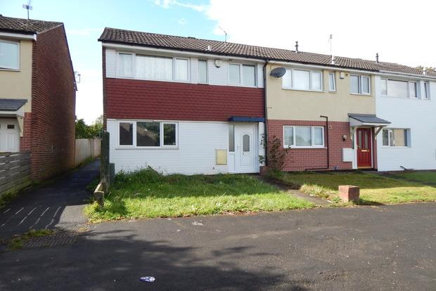 2 Bedrooms End Of Terrace House for sale in Kildonan Close, Nottingham, NG8