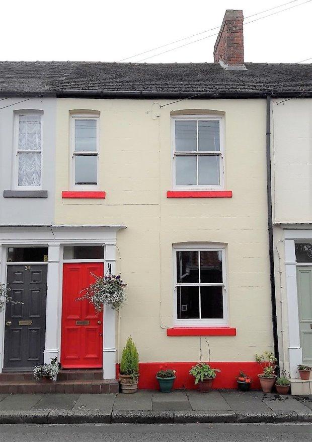 2 Bedrooms Terraced House for sale in RECTORY ROW, SEDGEFIELD, SEDGEFIELD DISTRICT