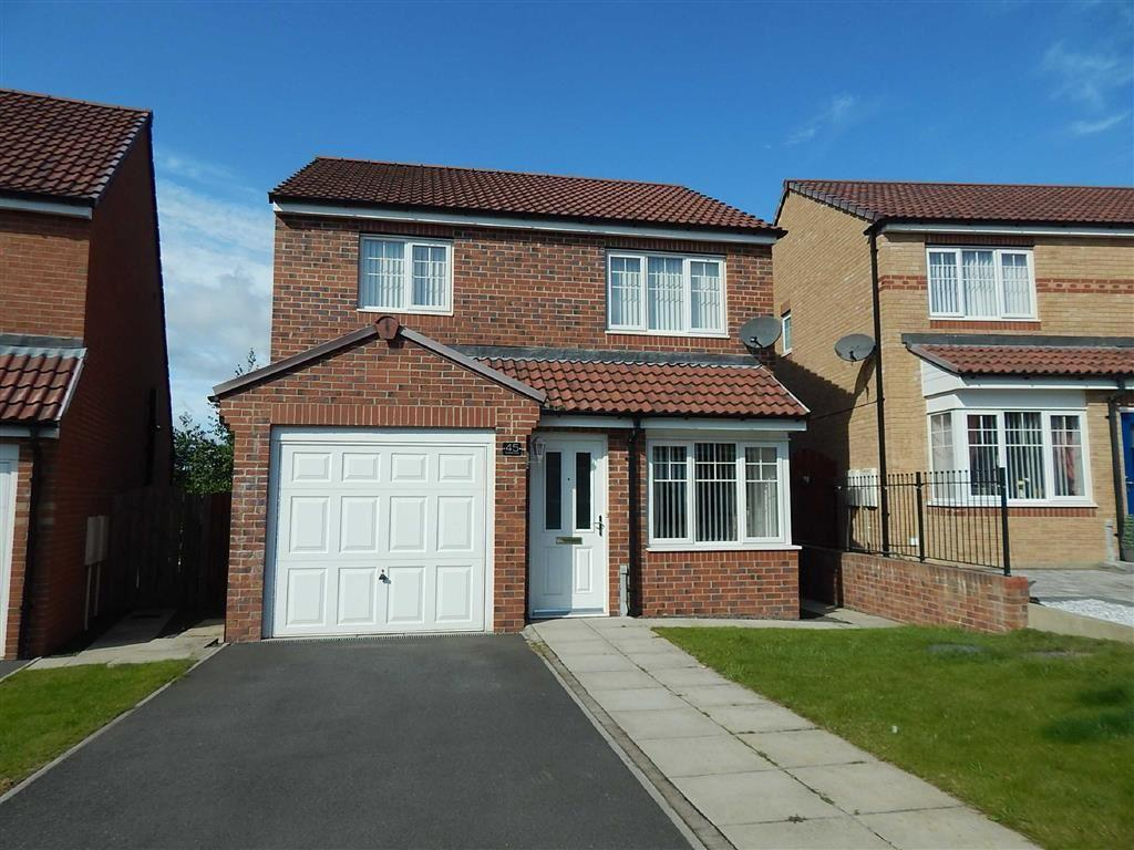3 Bedrooms Detached House for sale in Cawfields Close, Hadrian Village, Wallsend, NE28