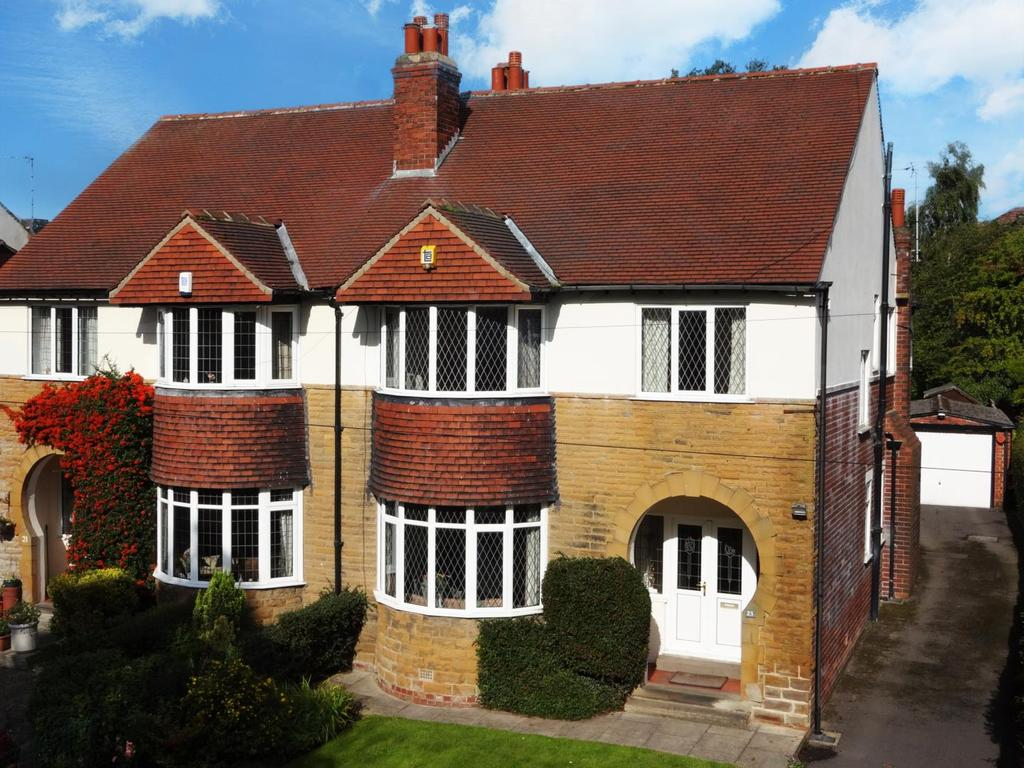4 Bedrooms Semi Detached House for sale in Fraser Avenue, Horsforth
