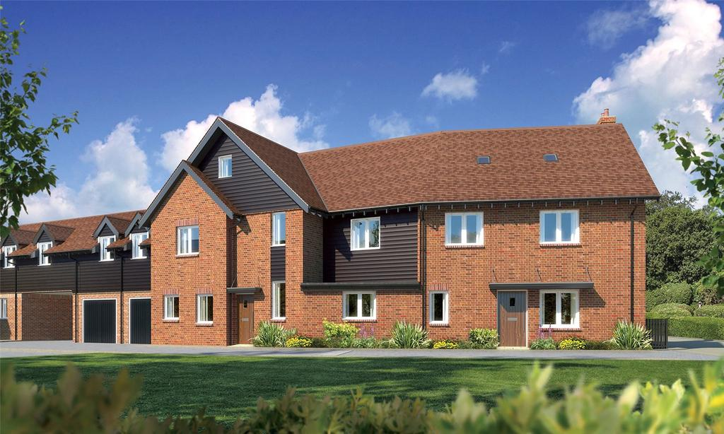 4 Bedrooms End Of Terrace House for sale in Renaissance Mews, Lymington, Hampshire, SO41