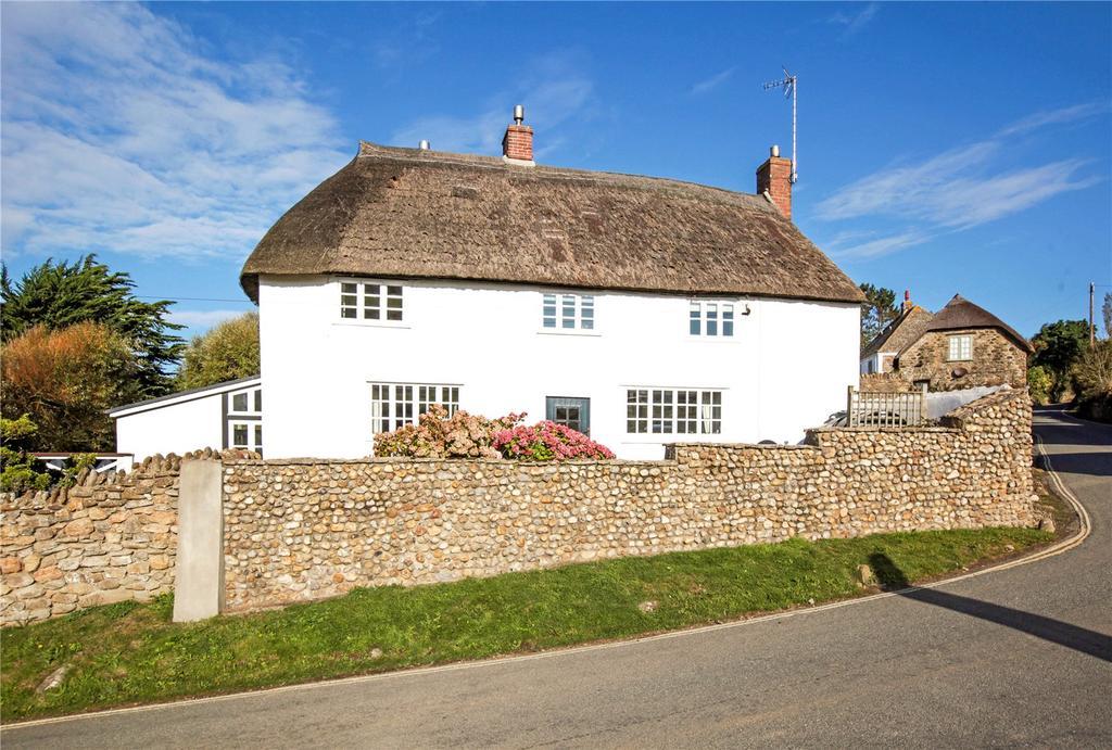 4 Bedrooms Detached House for sale in Seatown, Chideock, Bridport, Dorset, DT6