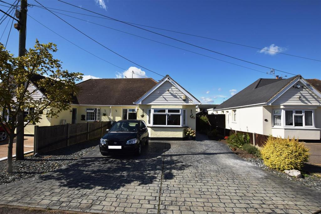3 Bedrooms Semi Detached Bungalow for sale in Station Road, Canvey Island