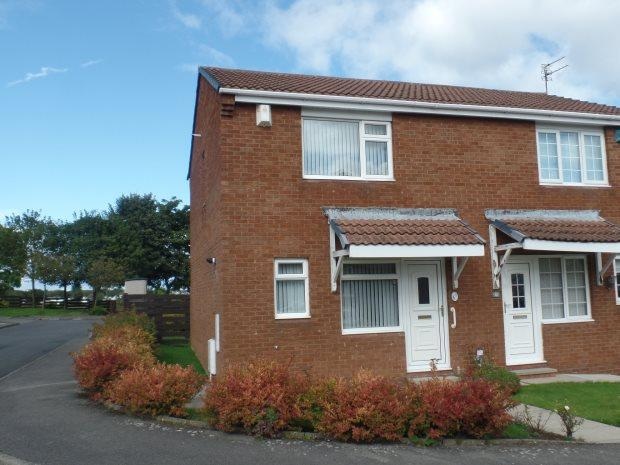 2 Bedrooms Semi Detached House for sale in DILSTON CLOSE, PETERLEE, PETERLEE