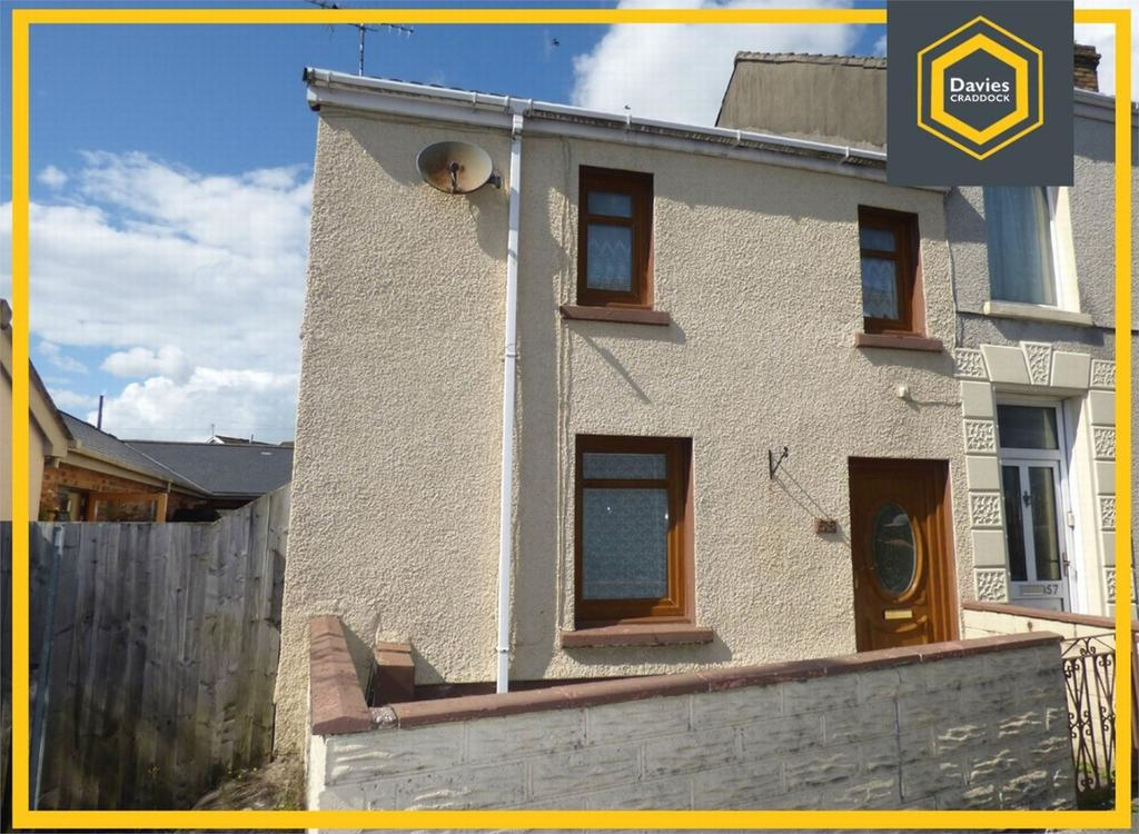 2 Bedrooms End Of Terrace House for sale in 55 Wern Road, Llanelli, Carmarthenshire