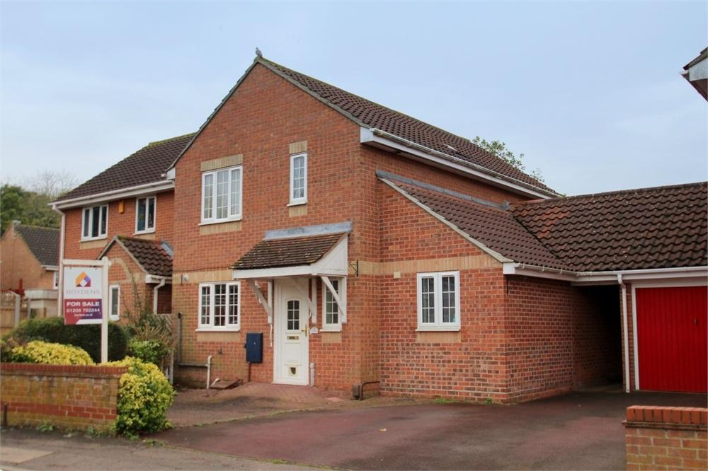 4 Bedrooms Detached House for sale in Friday Wood Green, COLCHESTER, Essex