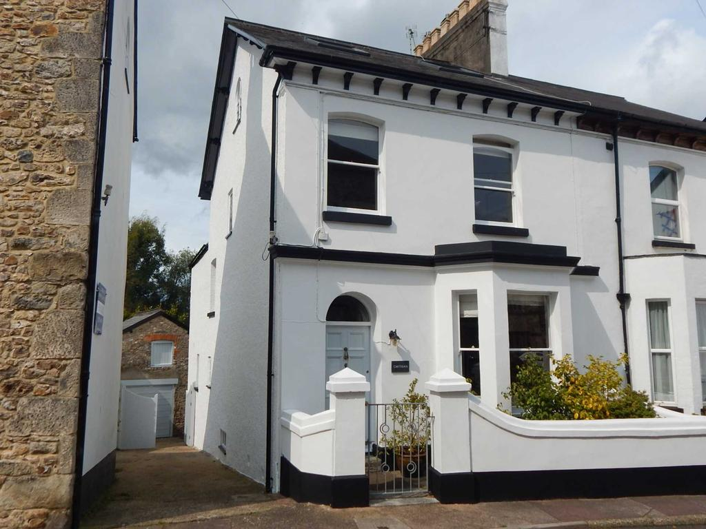 4 Bedrooms Semi Detached House for sale in Church Street, Colyton, Devon