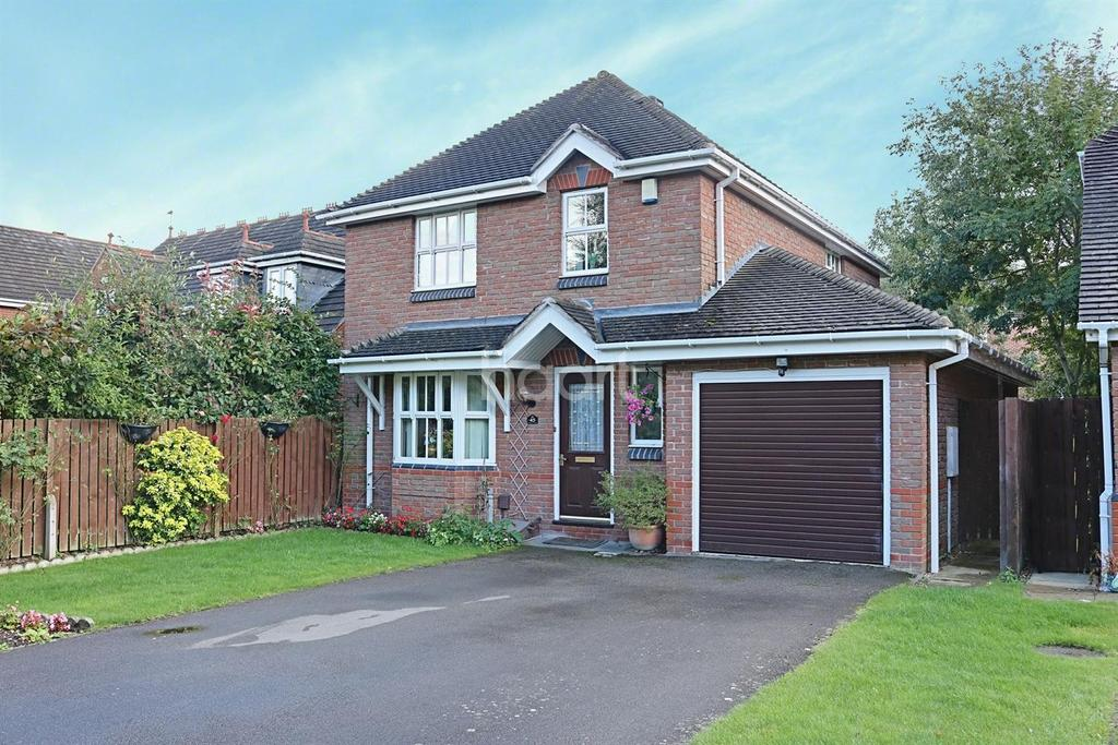 4 Bedrooms Detached House for sale in Whatton Oaks, Rothley