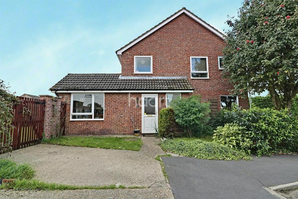 3 Bedrooms End Of Terrace House for sale in Frobisher Close, Thetford