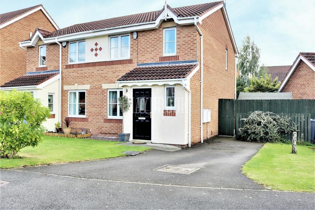 3 Bedrooms Semi Detached House for sale in Gileswood Crescent, Brampton Bierlow