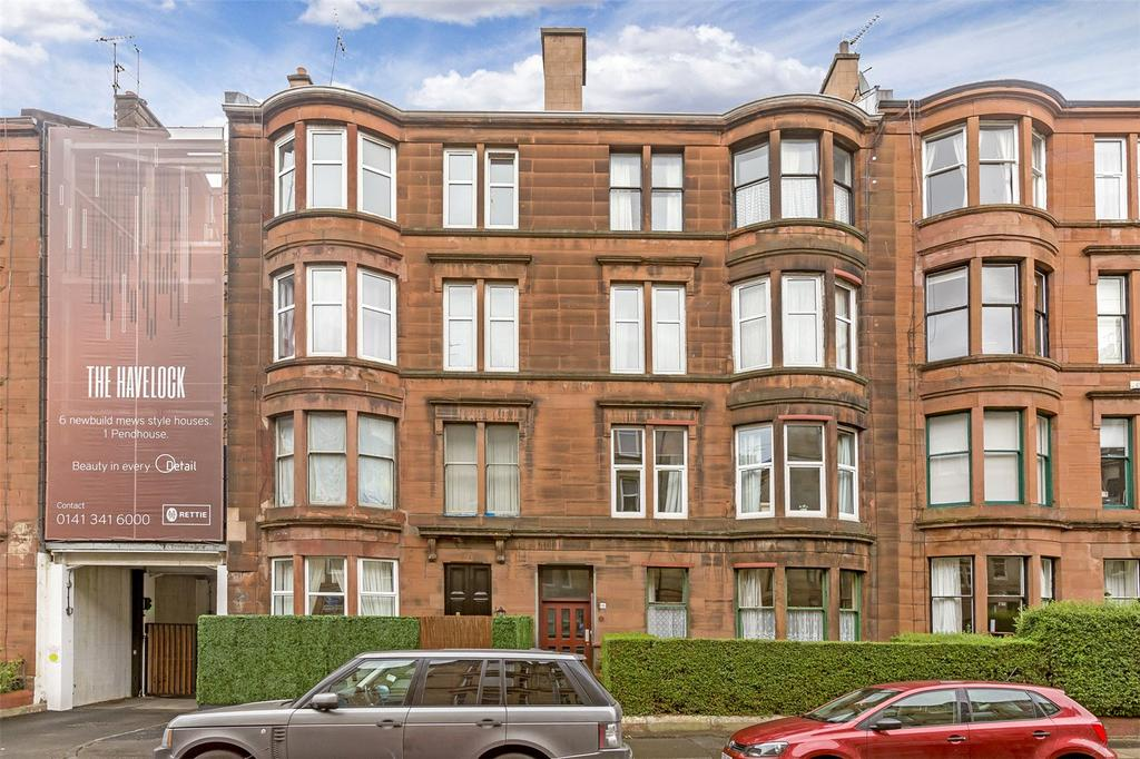 2 Bedrooms Flat for sale in Flat 3/2, 16 Havelock Street, Dowanhill, Glasgow, G11