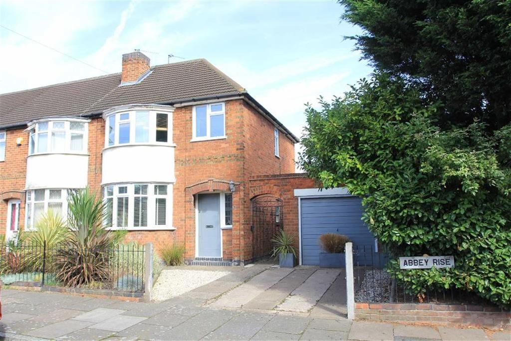 3 Bedrooms End Of Terrace House for sale in Abbey Rise, Leicester, Leicester