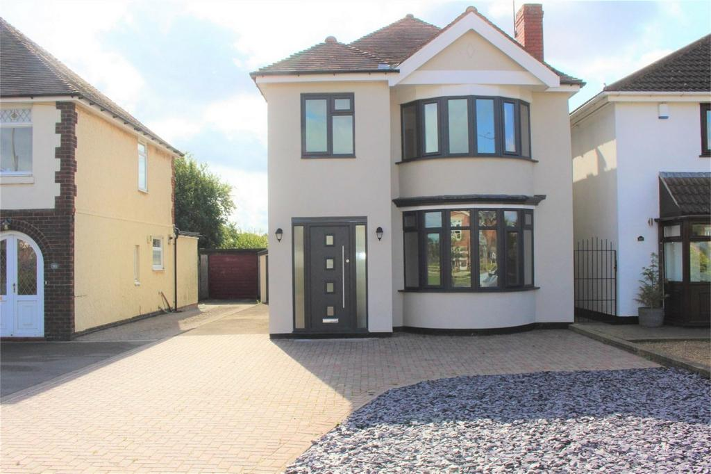 4 Bedrooms Detached House for sale in The Long Shoot, Nuneaton