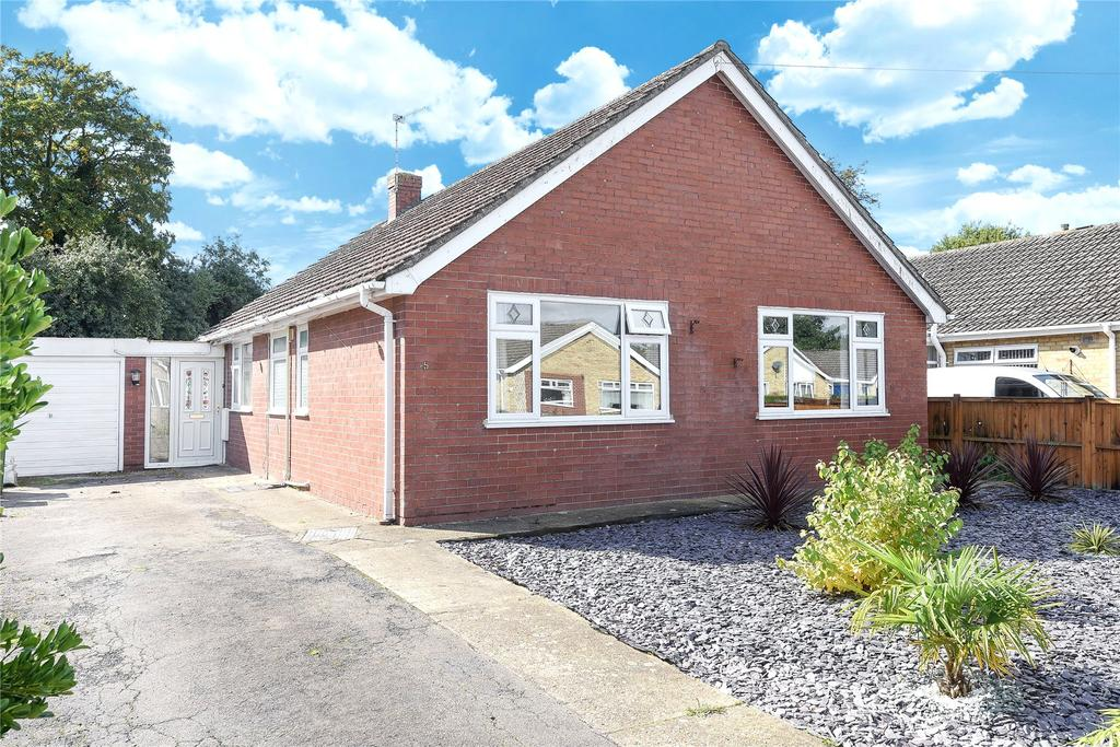 3 Bedrooms Detached Bungalow for sale in Coningsby Close, Boston, PE21