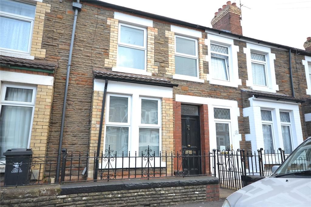 2 Bedrooms Terraced House for sale in Upper Kincraig Street, Roath, Cardiff, CF24