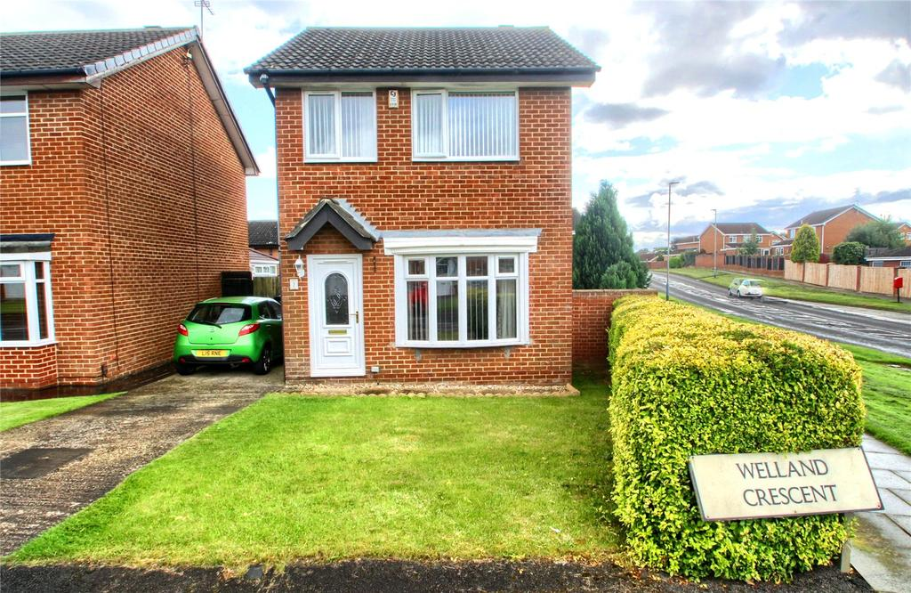 3 Bedrooms Detached House for sale in Welland Crescent, Elm Tree