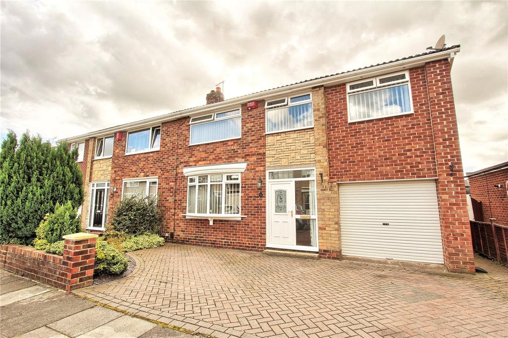 5 Bedrooms Semi Detached House for sale in Middleton Avenue, Wolviston Court