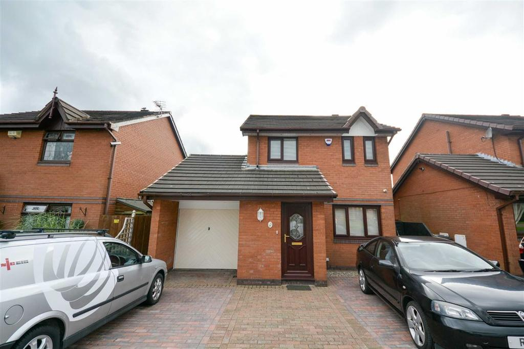 3 Bedrooms Detached House for sale in Cranstal Drive, Hindley Green, Wigan, WN2