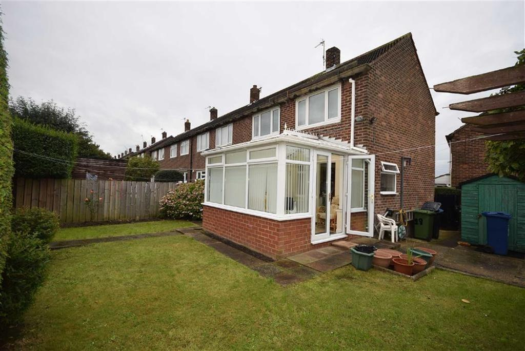 2 Bedrooms End Of Terrace House for sale in Tanfield Gardens, South Shields
