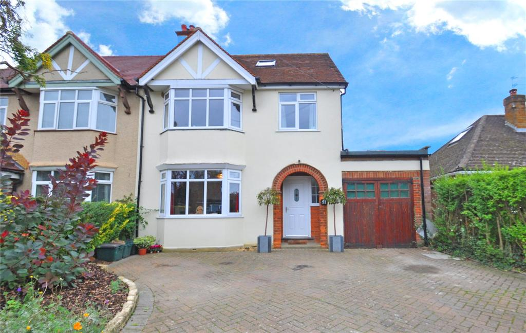 4 Bedrooms Semi Detached House for sale in Burston Drive, Park Street, St. Albans, Hertfordshire