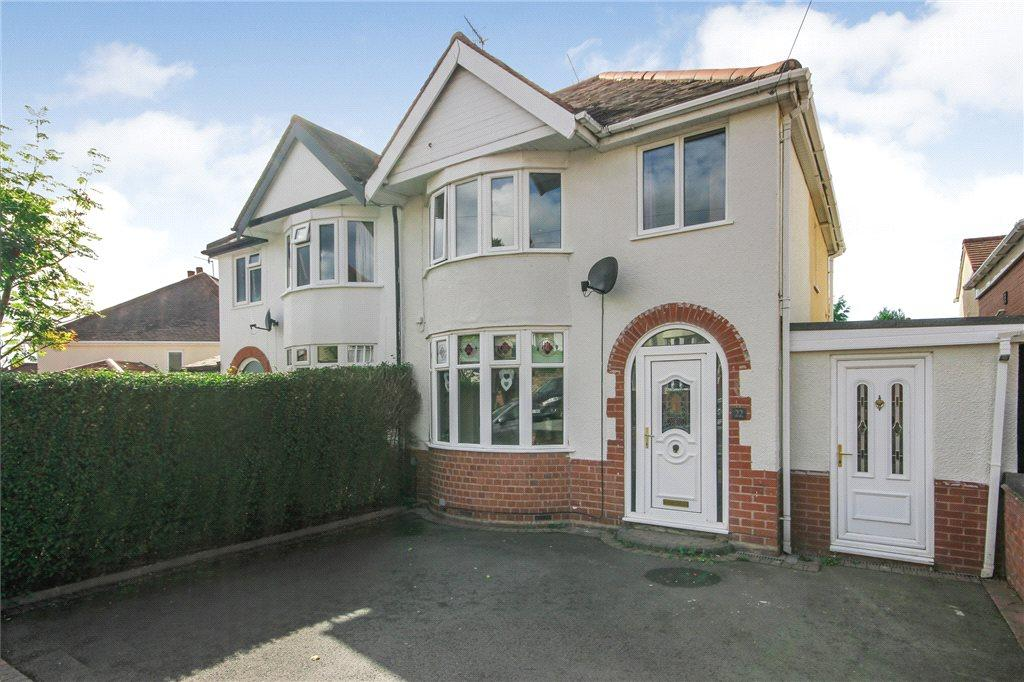 3 Bedrooms Semi Detached House for sale in Dennis Hall Road, Stourbridge, West Midlands, DY8