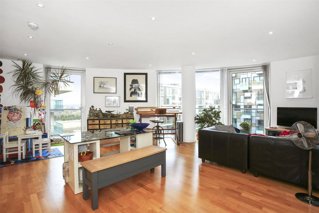 2 Bedrooms Flat for sale in Ability Place, Millharbour, London, E14