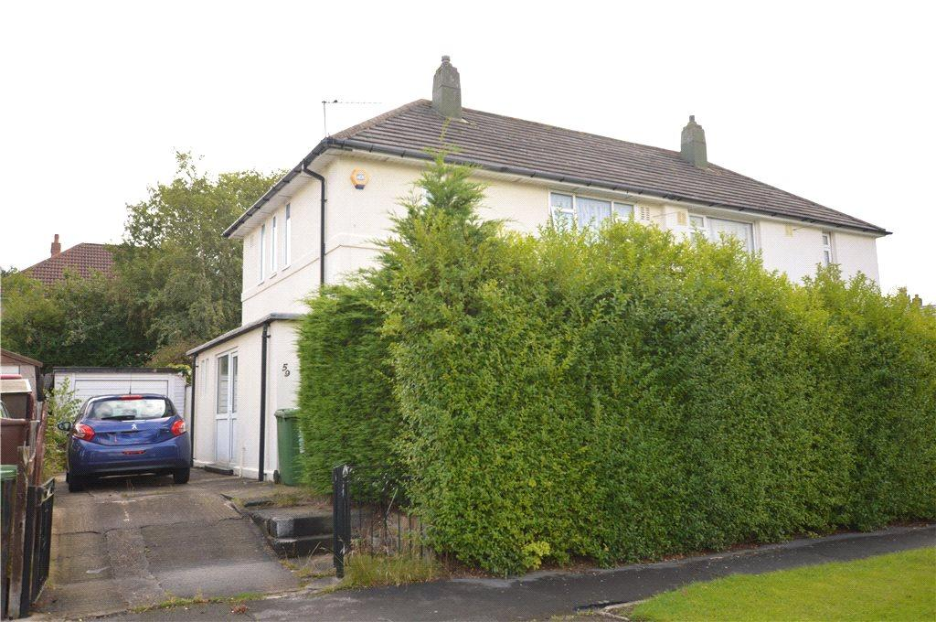 2 Bedrooms Semi Detached House for sale in Deanswood Drive, Leeds