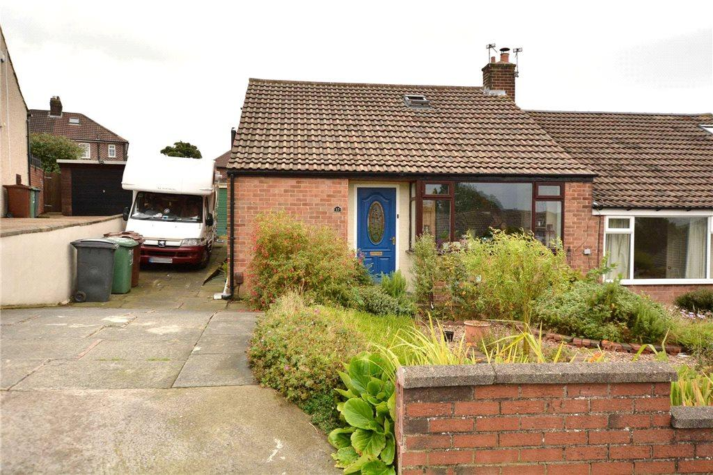 3 Bedrooms Semi Detached Bungalow for sale in Owlcotes Garth, Pudsey, West Yorkshire