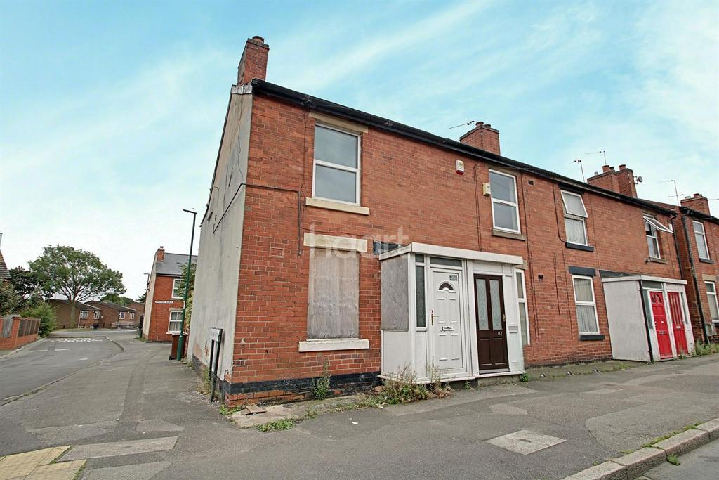 2 Bedrooms End Of Terrace House for sale in Hempshill Lane, Bulwell