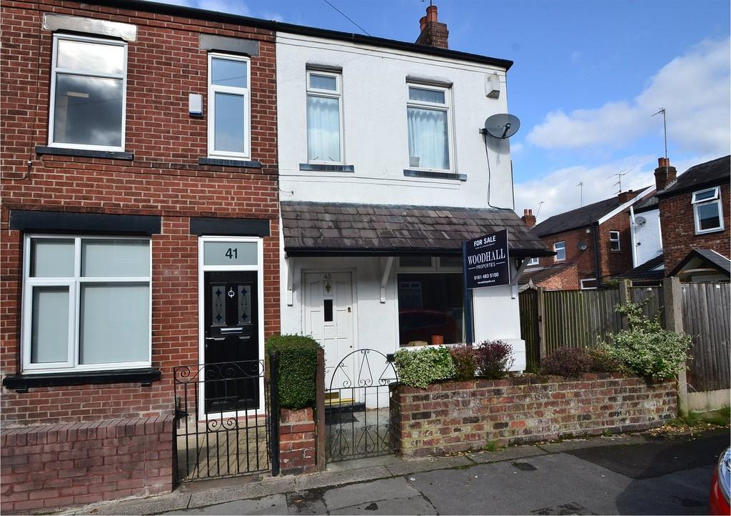 2 Bedrooms Semi Detached House for sale in Westwood Road, Woodsmoor, Stockport SK2 7AU