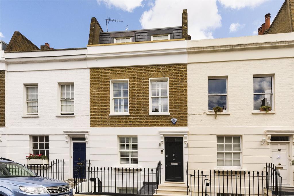 3 Bedrooms Terraced House for sale in Hasker Street, London, SW3