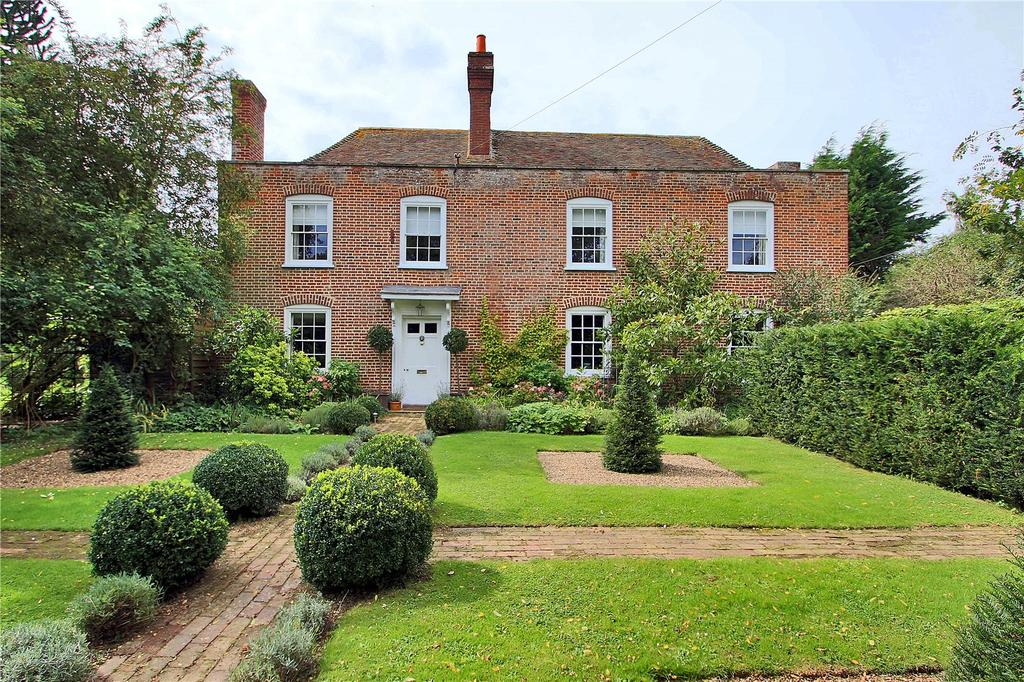 6 Bedrooms Detached House for sale in Old Badgins Road, Sheldwich, Faversham, Kent, ME13