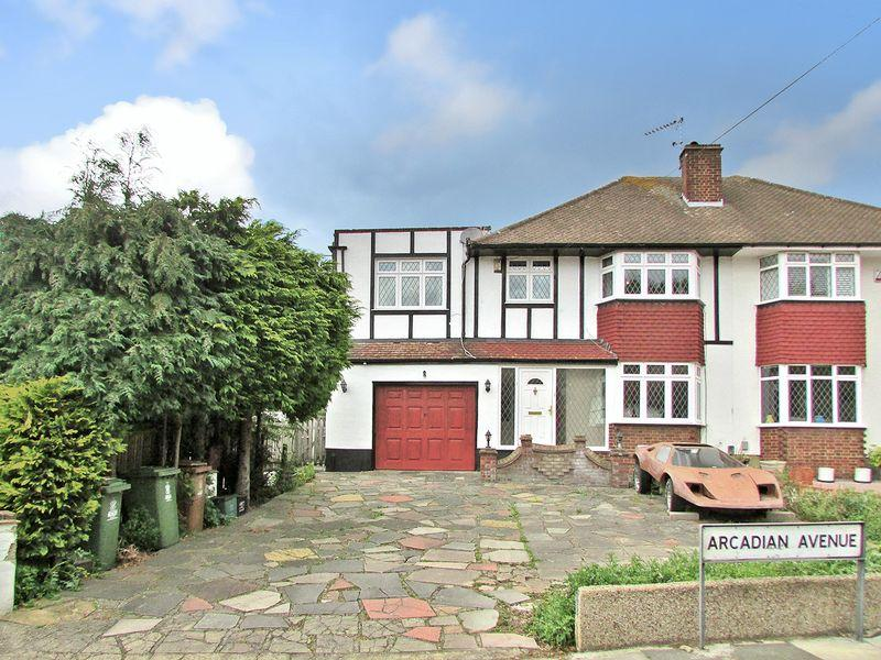 4 Bedrooms Semi Detached House for sale in Arcadian Avenue, Bexley