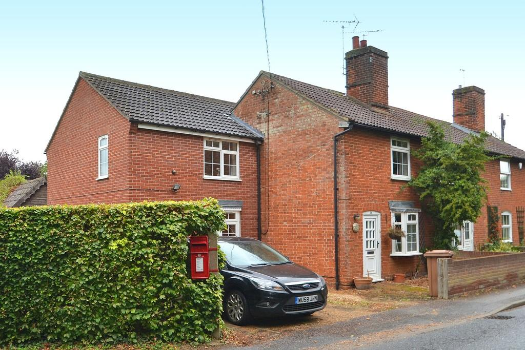 3 Bedrooms End Of Terrace House for sale in Manningtree Road, Stutton, Ipswich, IP9 2TE