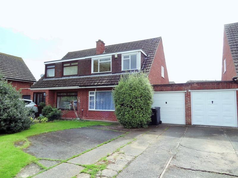3 Bedrooms Semi Detached House for sale in Wind Down Close, Bridgwater