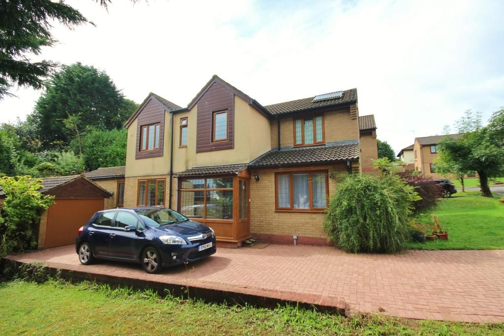 4 Bedrooms Detached House for sale in Ravensbrook, Morganstown, Cardiff