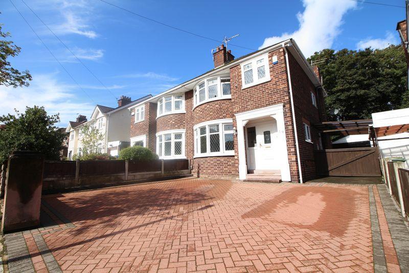 3 Bedrooms Semi Detached House for sale in Shawbury Avenue, Higher Bebington