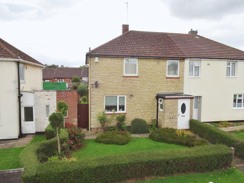 3 Bedrooms Semi Detached House for sale in Willow Brook Road, Corby
