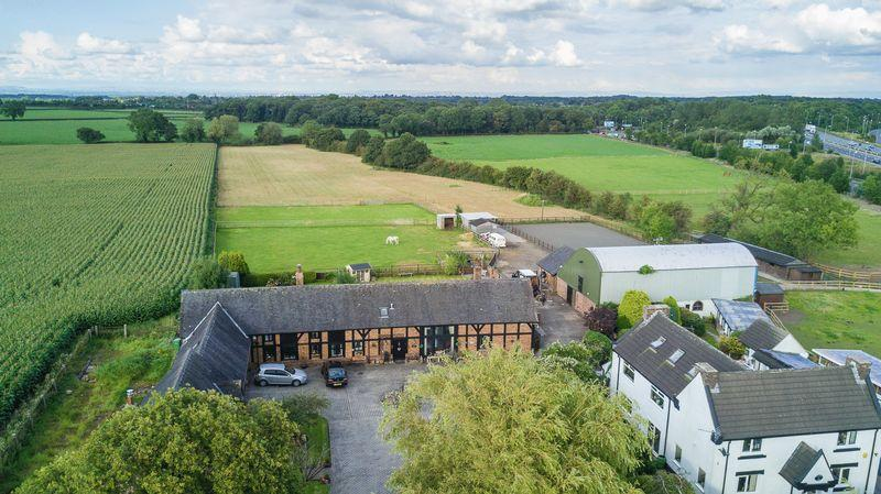 3 Bedrooms Barn Conversion Character Property for sale in Residential, Commercial Equestrian, Barley Castle Lane, Warrington