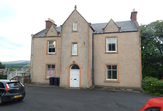 2 Bedrooms Flat for sale in Comely Bank, 33 Ettrick Terrace, Selkirk, TD7 4LF