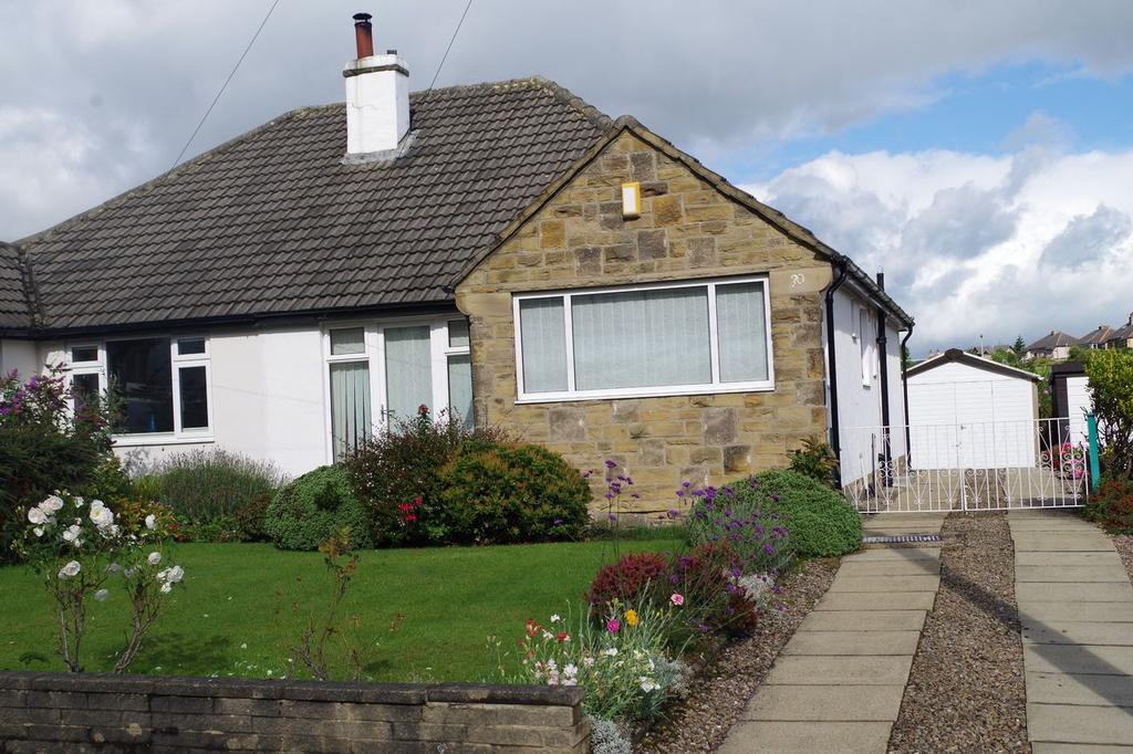 2 Bedrooms Semi Detached Bungalow for sale in Slead Avenue, Hove Edge, Brighouse HD6