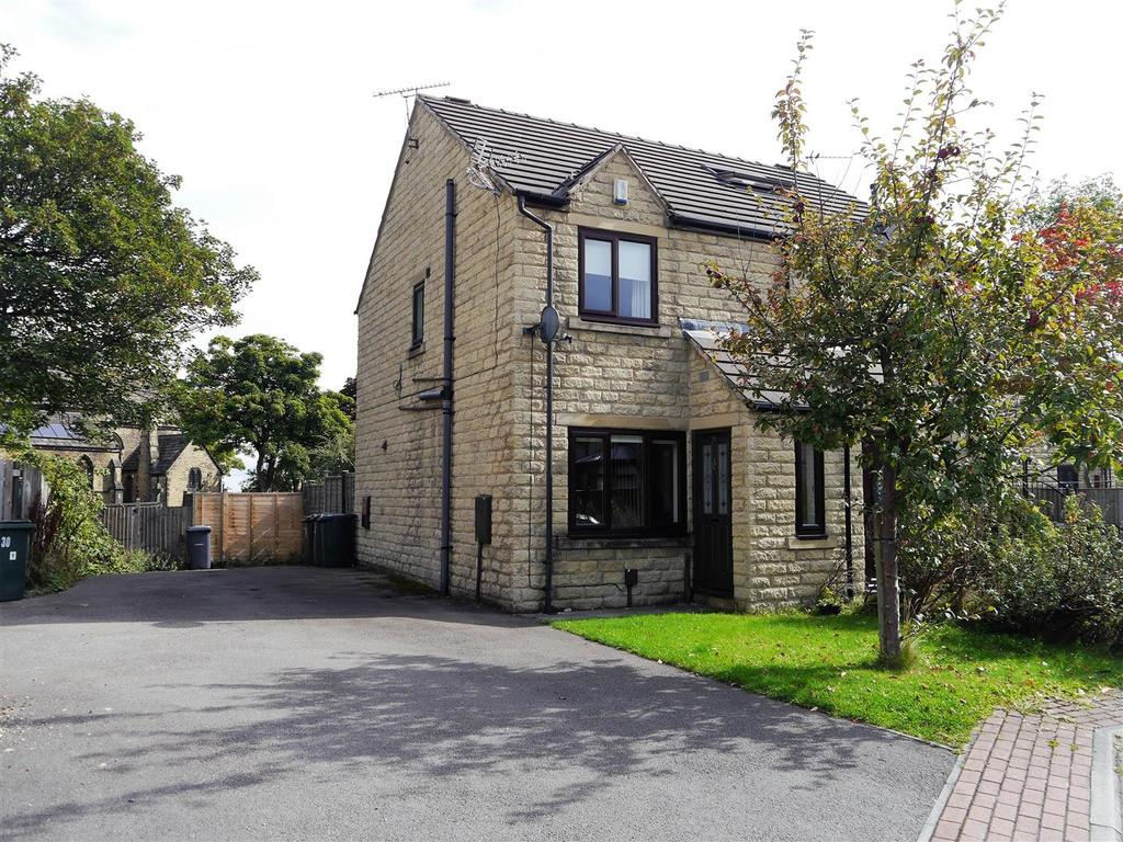2 Bedrooms Semi Detached House for sale in Flaxen Court, Bradford