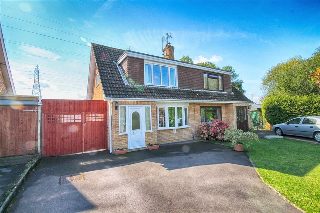 3 Bedrooms Chalet House for sale in Leinster Close, Springbank, Cheltenham, GL51