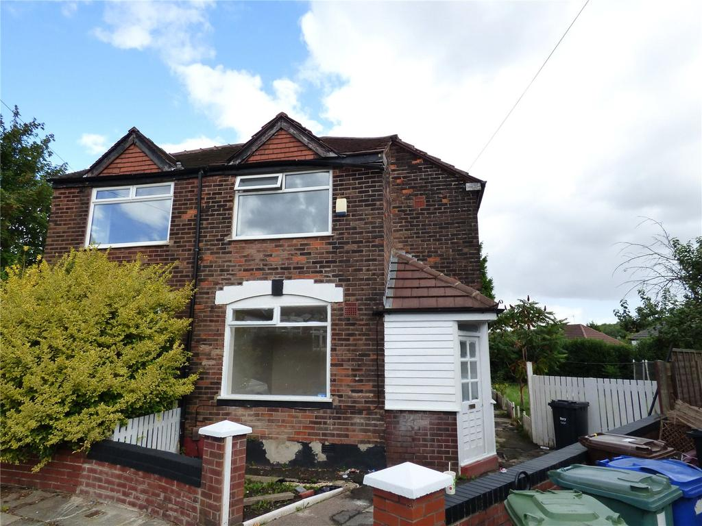 3 Bedrooms Semi Detached House for sale in Mosslee Avenue, Manchester, Greater Manchester, M8