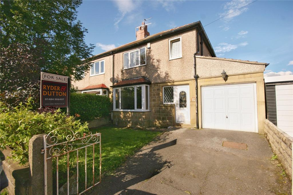 3 Bedrooms Semi Detached House for sale in Goldington Avenue, Oakes, HUDDERSFIELD, West Yorkshire, HD3