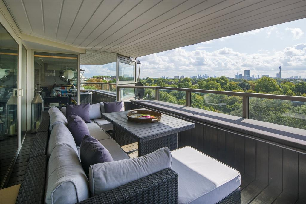 3 Bedrooms Flat for sale in Park St James, St. James's Terrace, St John's Wood, NW8